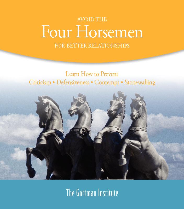 Avoid the Four Horesman For A Better Relationship